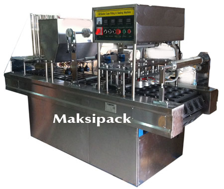 Mesin Cup Sealer Otomatis 2