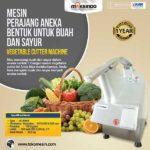 Jual Mesin Perajang Buah/Sayuran Berbagai Bentuk di Bogor