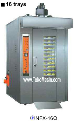Mesin Gas Rotary Oven