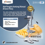 Jual Alat Pengiris Kentang Manual (french fries) di Bogor