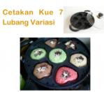 Cetakan Kue 7 Lubang Variasi Di Bogor