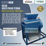 ual Mesin Mesin Mixer Pakan Ternak di Bogor