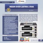 Mesin Oven Listrik 2 Rak Harga Hemat (New) Di Bogor