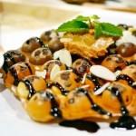 Jual Mesin Egg Waffle (Wafel Bentuk Telur) di Bogor