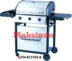 Jual Mesin Barbeku Gas Barbeque With Side Burner di Bogor