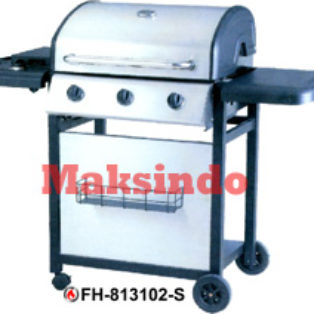 Jual Mesin Barbeku Gas Barbeque With Side Burner di Bogor