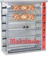 Jual Mesin Pemanggang Ayam (Gas Rotisseries) di Bogor