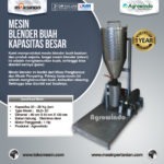 Jual Mesin Blender Buah Kapasitas Besar di Bogor
