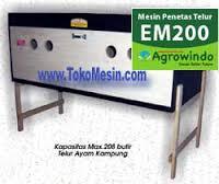Jual Mesin Penetas Telur Manual 200 Telur (EM-200) di Bogor