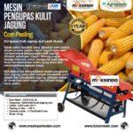 Jual Mesin Pengupas Kulit Jagung (Corn Peeling) di Bogor