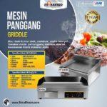 Jual Mesin Pemanggang Griddle (listrik) – EEG818 di Bogor