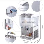 Jual Mesin Juice Dispenser 2 Tabung (17 Liter) – DSP17x2 di Bogor