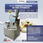 Jual Mesin Pembuat Bakpao Isi Otomatis di Bogor