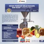 Jual Mesin Pembuat Selai Kacang dan Buah (Colloid Mill) di Bogor