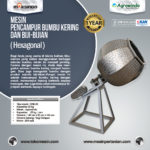 Jual Mesin Pengaduk Bumbu (Hexagonal) di Bogor
