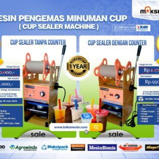 Promo Mesin Cup Sealer