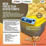 Jual Mesin Penetas Telur 96 Butir Otomatis – AGR-TT96 di Bogor