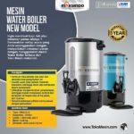 Jual Mesin Water Boiler New Model di Bogor