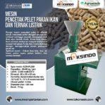 Jual Mesin Cetak Pelet Pakan Ikan dan Ternak Listrik – AGR-PL220 di Bogor