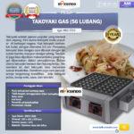 Jual Mesin Takoyaki Gas (56 Lubang) di Bogor