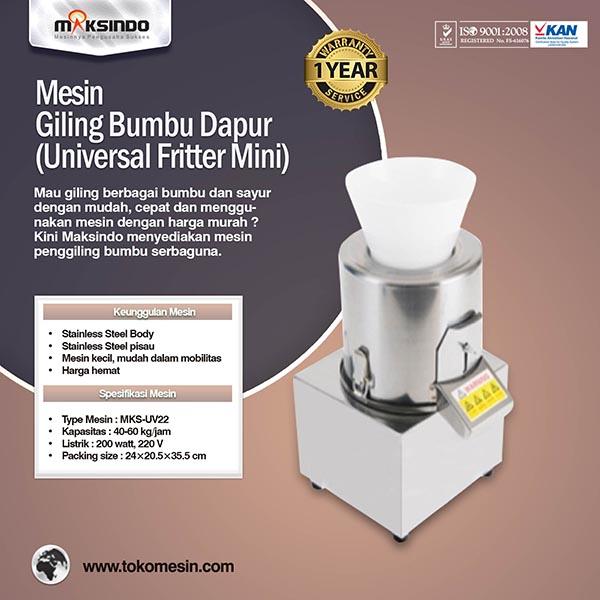 mesin-giling-bumbu-dapur-universal-fritter-mini-mks-uv221