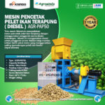 Jual Mesin Pencetak Pelet Ikan Terapung (Diesel) di Bogor