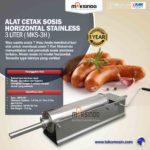 Jual Alat Cetak Sosis Horizontal Stainless 3 – 7 liter (MKS-3H) di Bogor