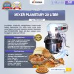 Jual Mesin Mixer Planetary 20 Liter NEW High Quality (MKS-BK20M) di Bogor