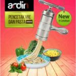 Jual Alat Cetak Mie dan Pasta Manual Stainless (ARDIN) di Bogor