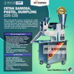 Jual Cetak Samosa, Pastel, Dumpling (CDS-120) di Bogor