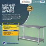Jual Meja Kerja Stainless (WTS-180) di Bogor