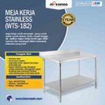 Jual Meja Kerja Stainless (WTS-182) di Bogor