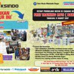 Program Tukar Brosur di Toko Mesin Maksindo Bogor