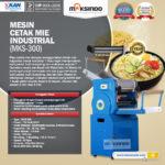 Jual Mesin Cetak Mie Industrial (MKS-300) di Bogor
