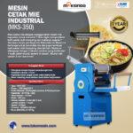 Jual Mesin Cetak Mie Industrial (MKS-350) di Bogor