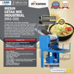 Jual Mesin Cetak Mie Industrial (MKS-500) di Bogor