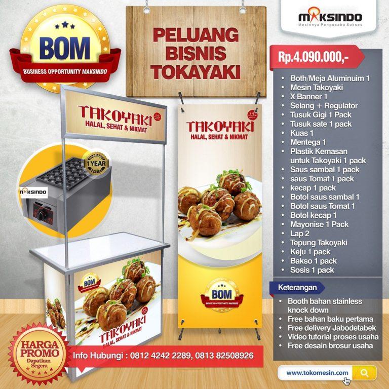 Paket Usaha Takoyaki Program BOM