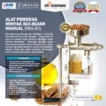 Jual Alat Pemeras Minyak Biji-Bijian Manual di Bogor