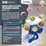 Jual Meat Slicer Pengiris Daging – MKS-70 di Bogor