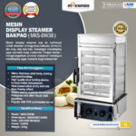Jual Mesin Display Steamer Bakpao – MKS-DW38 di Bogor