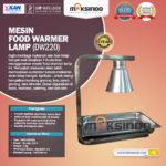 Jual Mesin Food Warmer Lamp – DW220 di Bogor