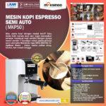 Jual Mesin Kopi Espresso Semi Auto – MKP50 di Bogor