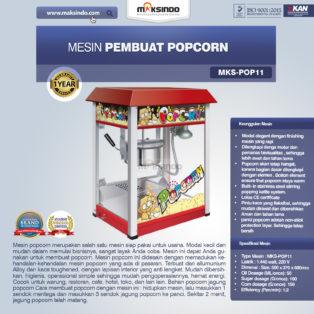 Jual Mesin Pembuat Popcorn (POP11) di Bogor