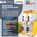 Jual Mesin Slush (Es Salju) dan Juice – SLH02 di Bogor