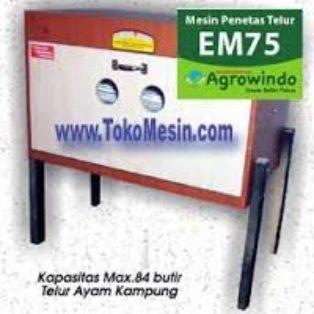 Jual Mesin Penetas Telur Manual 75 Butir (EM-75) di Bogor