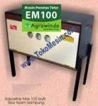 Jual Mesin Penetas Telur Manual 100 Telur (EM-100) di Bogor