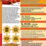 Training Praktis Lengkap Sambal dan Sauce di Condet 18 Maret 2017