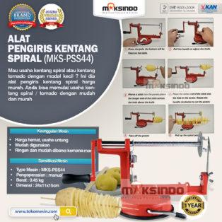 Jual Alat Pengiris Kentang Spiral (MKS-PSS44) di Bogor