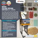 Jual Mesin Filling Tepung dan Biji (20-1200gr) di Bogor