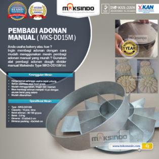 Jual Pembagi Adonan Manual (DD15M) di Bogor